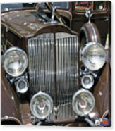 Packard Club Sedan Hood Acrylic Print