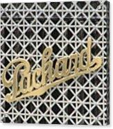 Packard Grill Acrylic Print