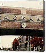 Packard Plant Acrylic Print