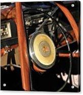 Packard Steering Wheel Acrylic Print