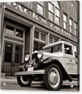 Pack's Tavern Nostalgia Acrylic Print