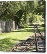 Padarn Lake Railway Acrylic Print
