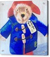 Paddington Bear Acrylic Print