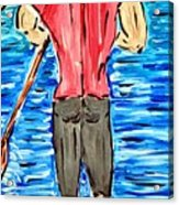 Paddle In Paradise Acrylic Print
