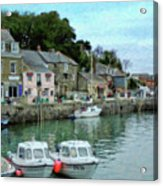 Padstow Harbour - P4a16021 Acrylic Print