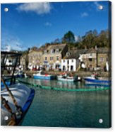 Padstow Harbour  Acrylic Print