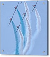 Paf Shedilaerobatic Team Formation Flight Acrylic Print