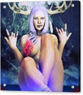 Pagan Paradise Acrylic Print