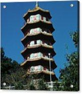 Pagoda In Taiwan Acrylic Print