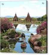 Temples Acrylic Print