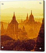 Pagodas Acrylic Print