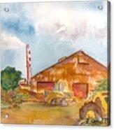Paia Mill 3 Acrylic Print