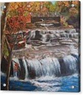 Paine Falls Acrylic Print