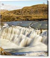 Paine River Waterfall Acrylic Print