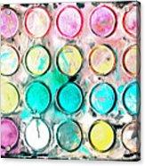 Paint Colors Acrylic Print