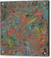 Paint Number 17 Acrylic Print