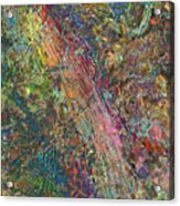 Paint Number 27 Acrylic Print by James W Johnson