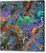 Paint Number 28 Acrylic Print