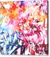 Paint Party Acrylic Print