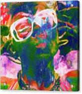 Paint Splash Pinup Art Acrylic Print