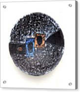Painted Bowl Acrylic Print