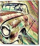 Painted Car Acrylic Print