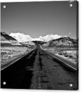 Painted Desert Road #2 Acrylic Print