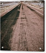 Painted Desert Road #4 Acrylic Print