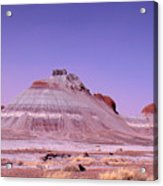 Painted Desert Tepees Acrylic Print
