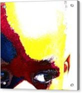 Painted Face 1 Acrylic Print