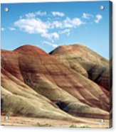 Painted Hills Colors Acrylic Print