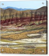 Painted Hills View From Overlook Acrylic Print