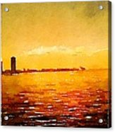 Painted In Waterlogue Acrylic Print