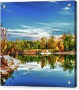 Painted Klondike Autumn Acrylic Print