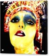 Painted Lady Acrylic Print