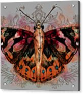 Painted Lady II Acrylic Print