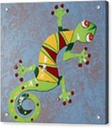 Painted Liz Acrylic Print