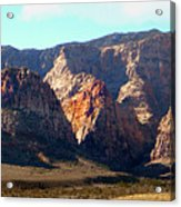 Painted Mountains Acrylic Print