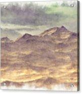 Mountainous Landscape Acrylic Print