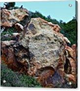 Painted Rocks Acrylic Print