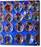 Painted Shot Glasses Acrylic Print