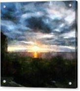 Painted Skies 01 Acrylic Print