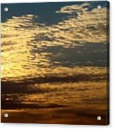 Painted Sky Four Acrylic Print