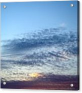 Painted Sky Six Acrylic Print