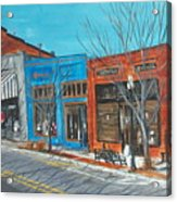 Paintin The Town Acrylic Print