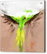Painting 661 1 Bird 8 Acrylic Print