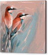 Painting 662 2 Bird 9 Acrylic Print