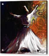 Painting 716 3 Sufi Whirl 2 Acrylic Print