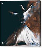 Painting 716 4 Sufi Whirl 2 Acrylic Print
