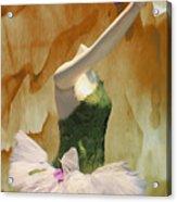 Painting A Ballet Dream Acrylic Print
